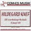 Live in der Hamburger Musikhalle, 28. Januar 1986