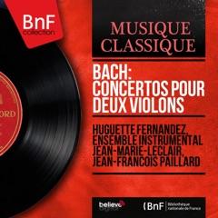 Bach: Concertos pour deux violons (Mono Version)