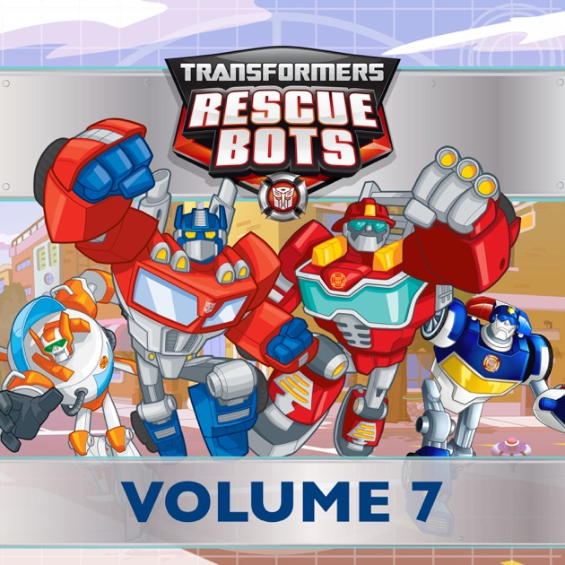 transformers rescue bots vol 7 on itunes