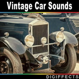 Car Sound Effects >> Vintage Car Sounds By Digiffects Sound Effects Library