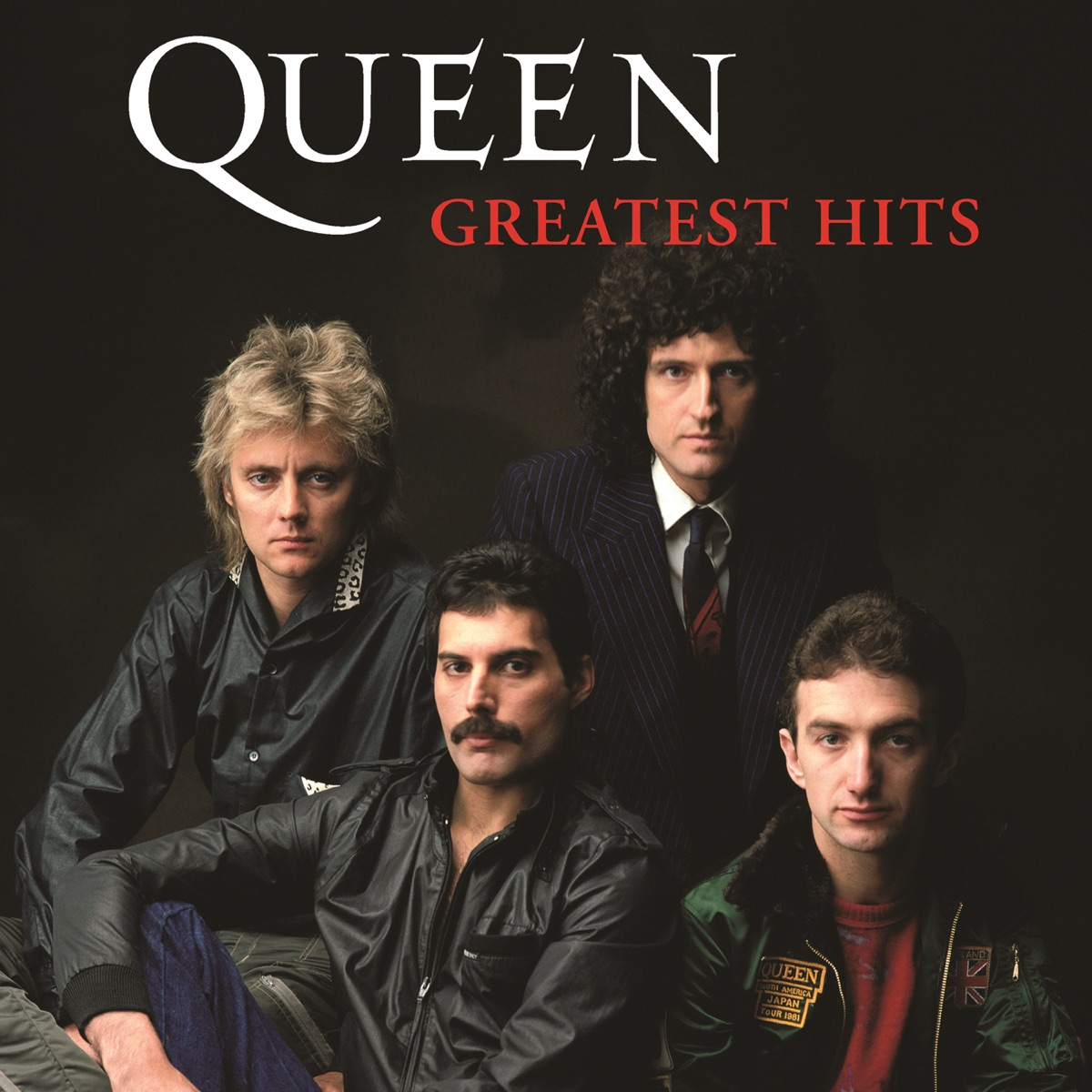 Greatest Hits Queen CD cover