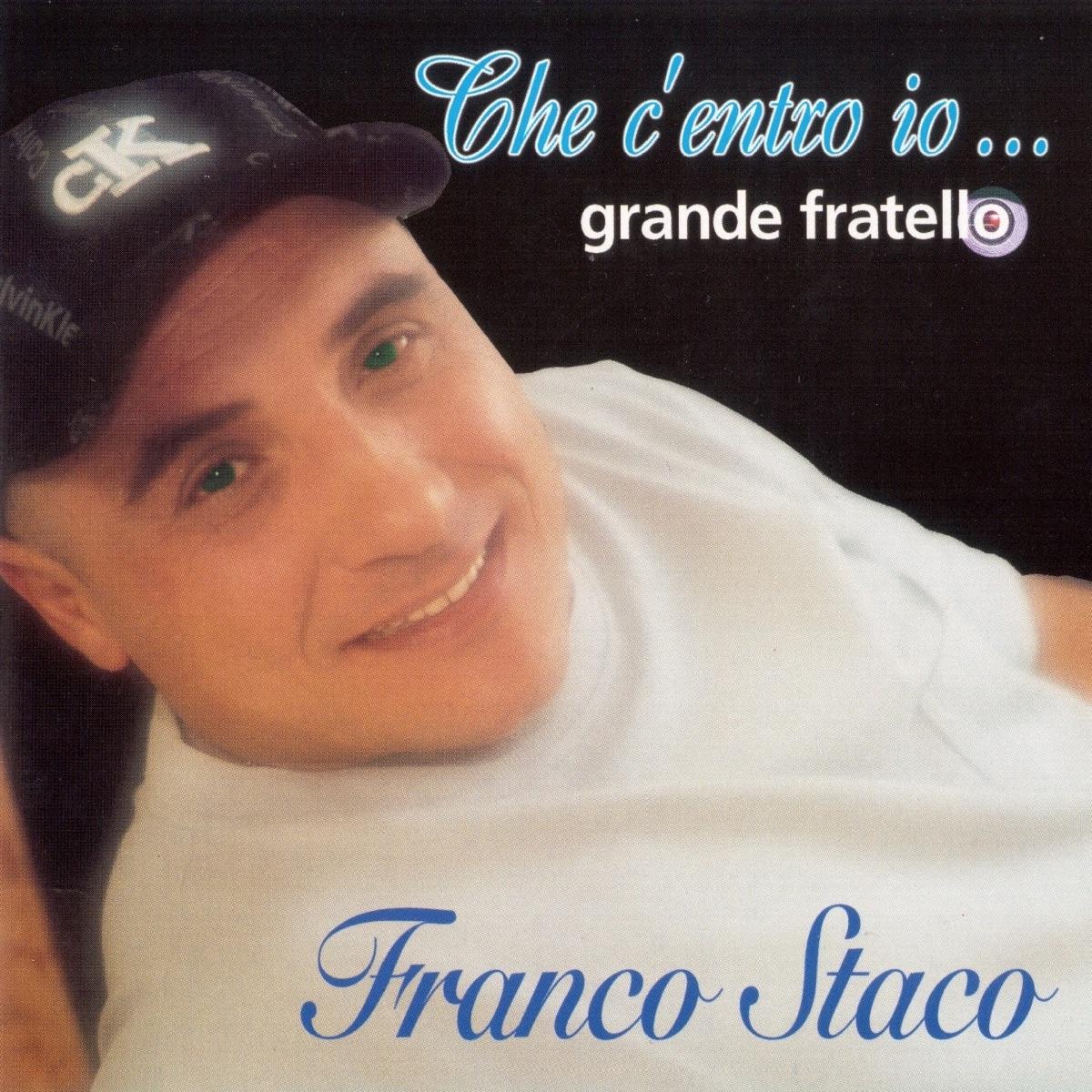 Franco Staco La Foglia Di Bamb.Che C Entro Io Grande Fratello Album Cover By Franco Staco