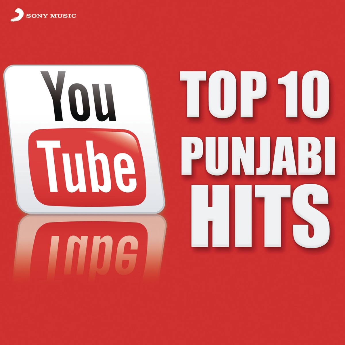 Youtube Top 10 Punjabi Hits Album Cover by Various Artists