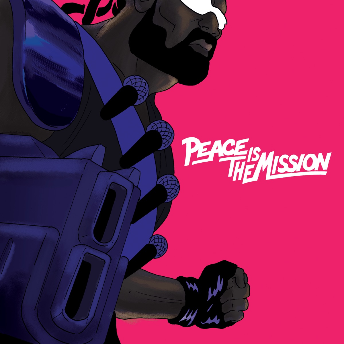 Peace Is The Mission Major Lazer CD cover