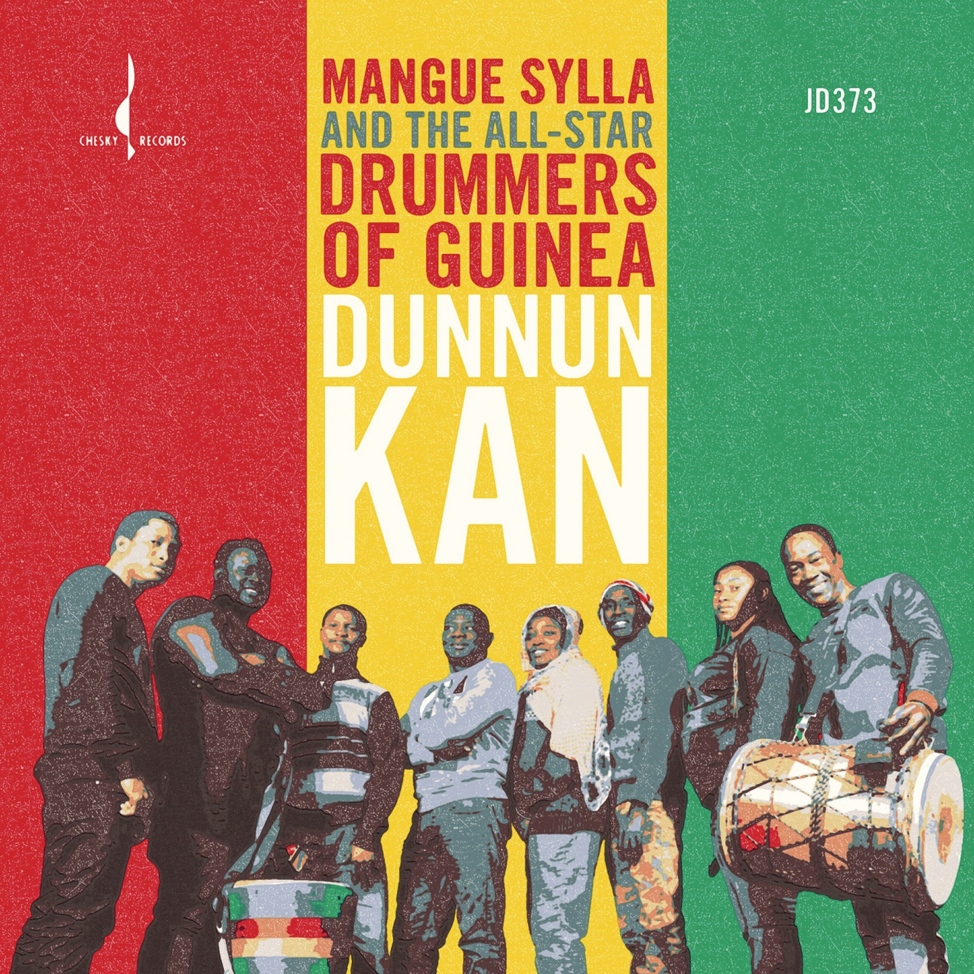 Mamasata (with The All-Star Drummers of Guinea)