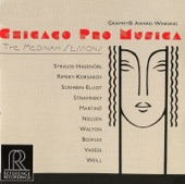 Chicago Pro Musica - The Soldier's Tale -- Suite: The Little Concert [The Little Concert]