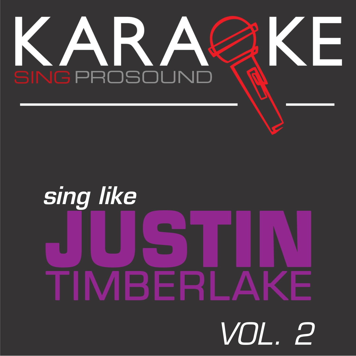 Karaoke in the Style of Justin Timberlake, Vol. 2