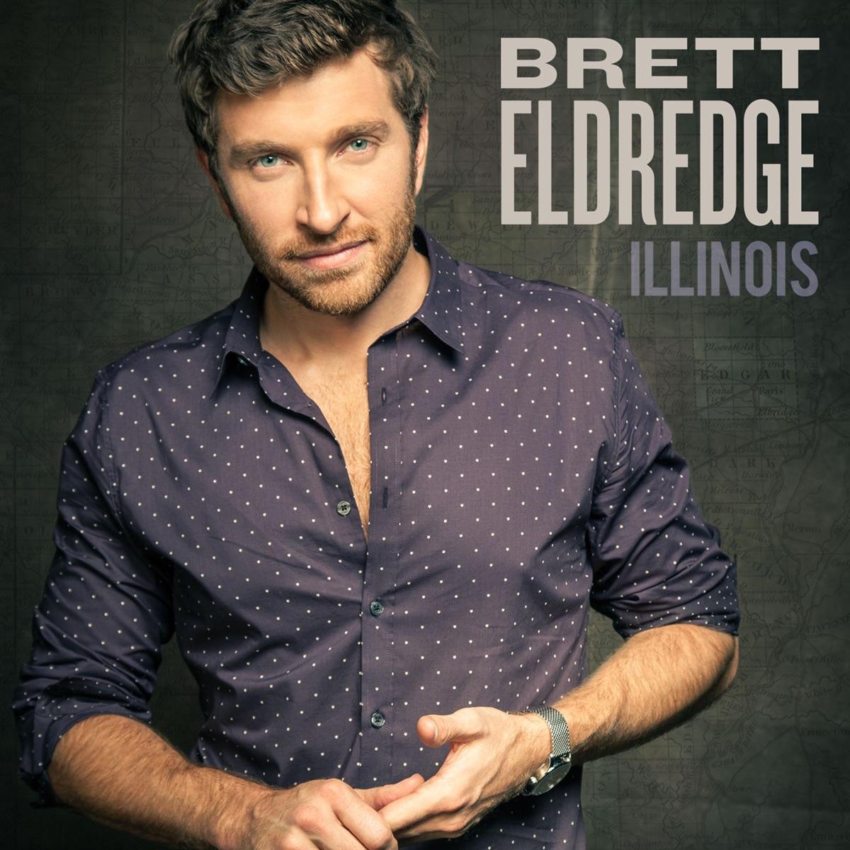 Illinois Brett Eldredge CD cover