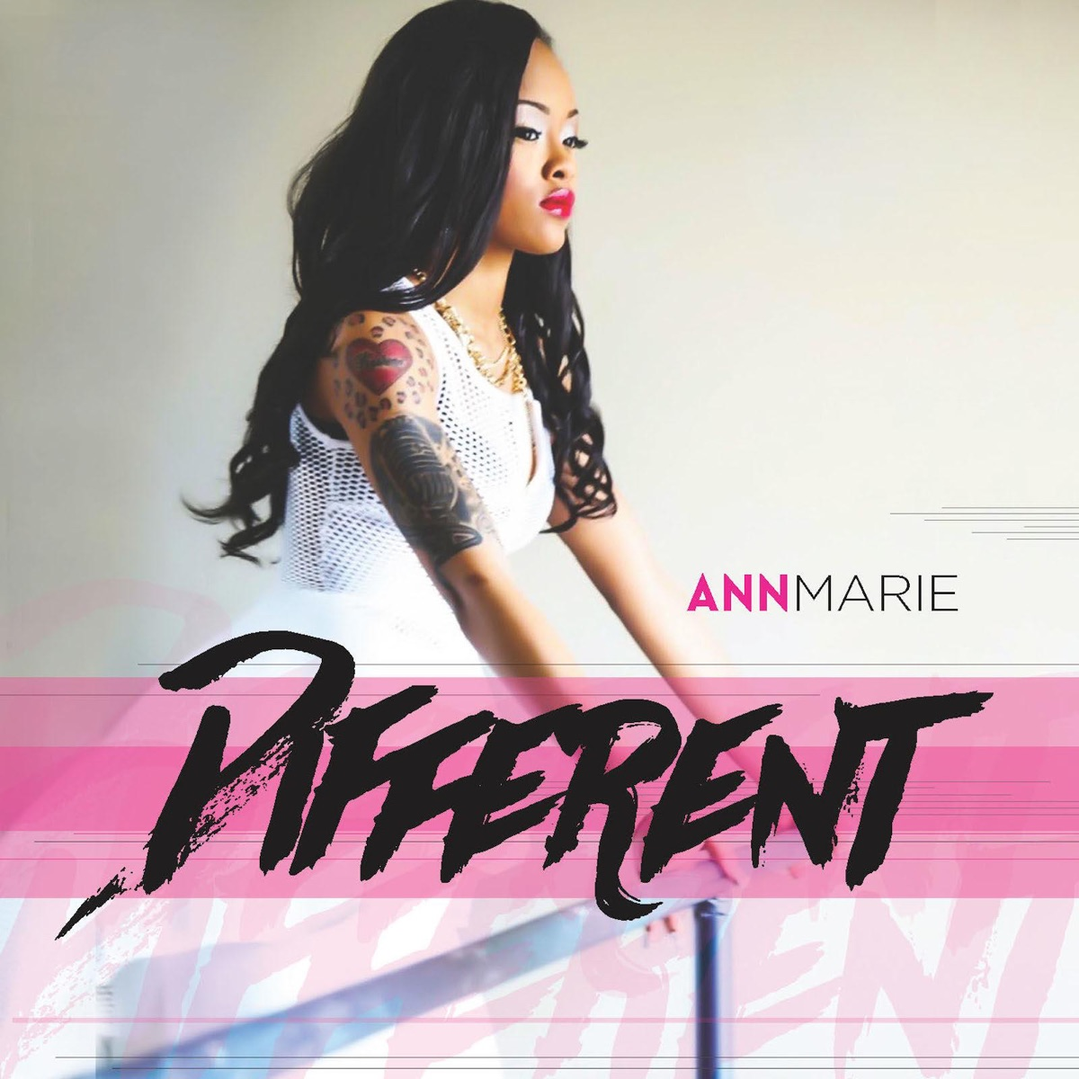 Different - Single Album Cover by Ann Marie