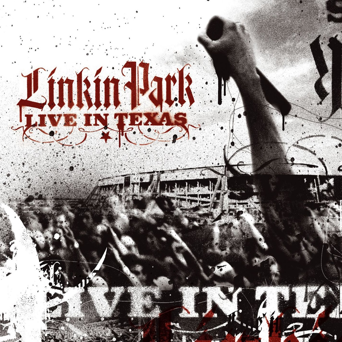Live In Texas Album Cover By Linkin Park