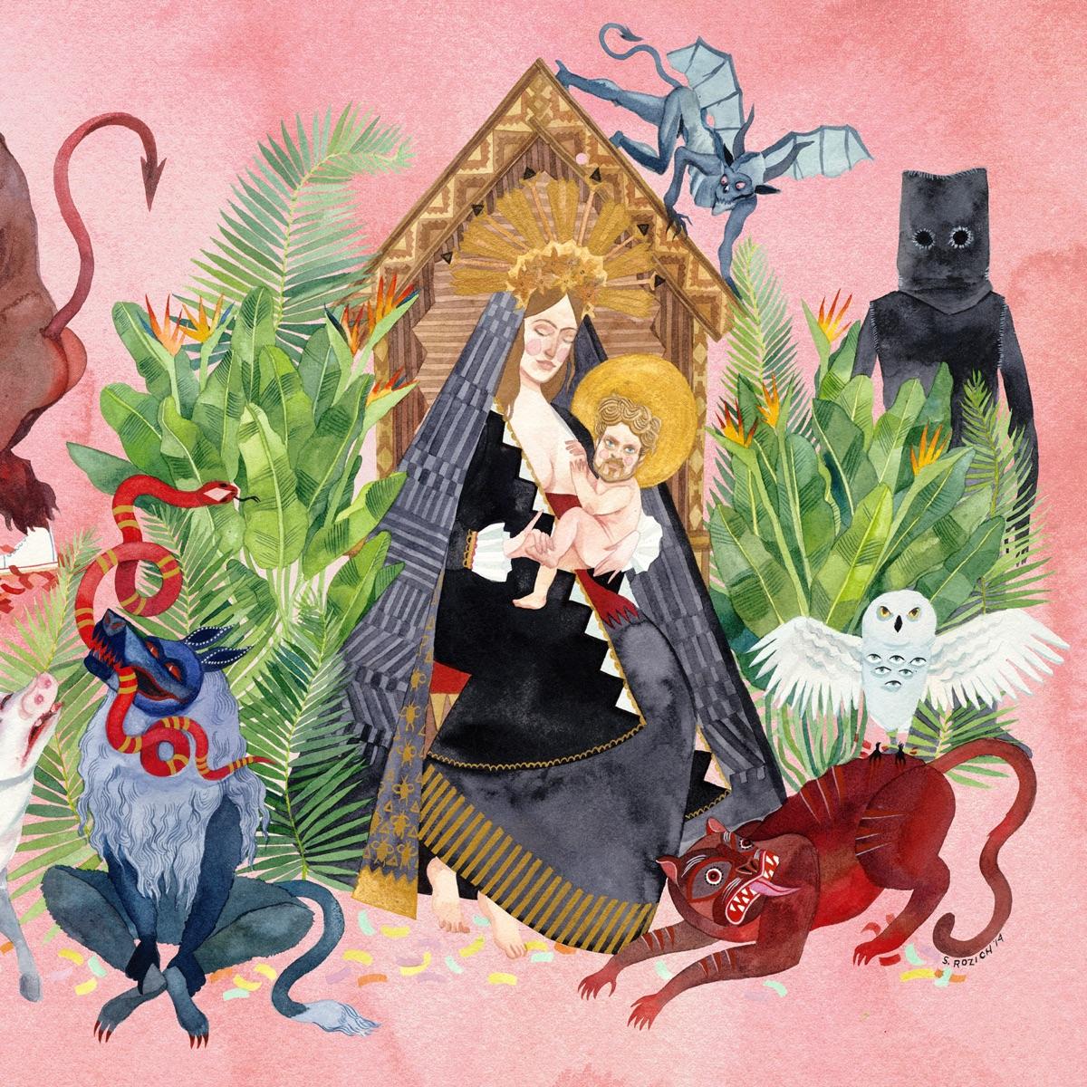 I Love You Honeybear Father John Misty CD cover