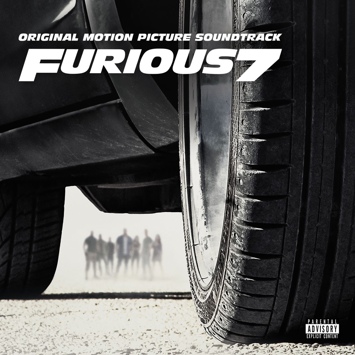 Furious 7 Original Motion Picture Soundtrack Various Artists CD cover