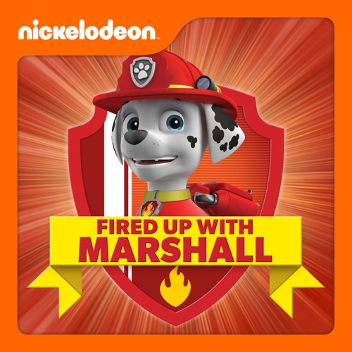 PAW Patrol, Fired Up With Marshall poster