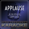 High Frequency Karaoke - Applause (Instrumental Version)
