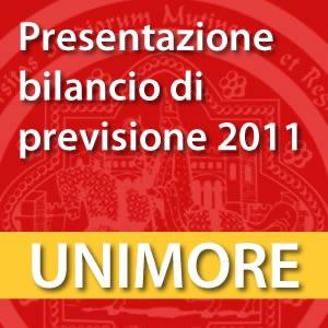 Presentazione del Bilancio di Previsione 2011 [Video]