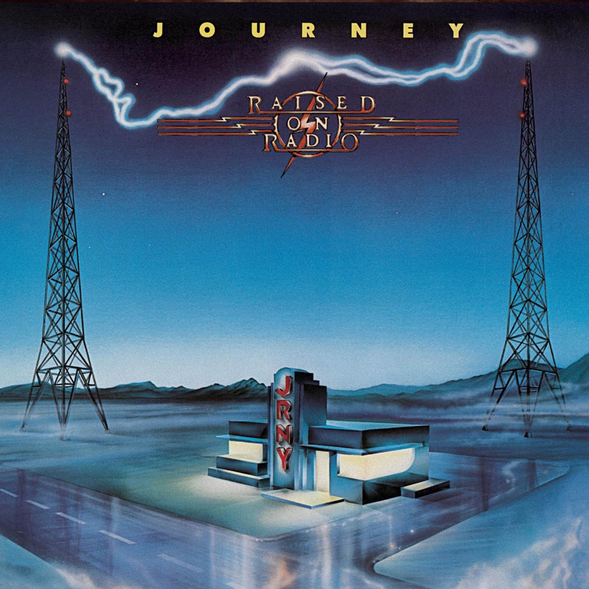 Raised On Radio Journey CD cover