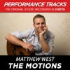 The Motions (Performance Tracks) - EP, Matthew West