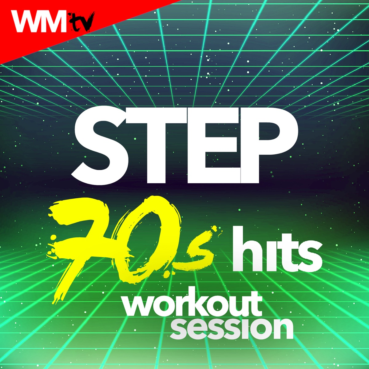 Step 70s Hits Workout Session Album Cover by Workout Music TV