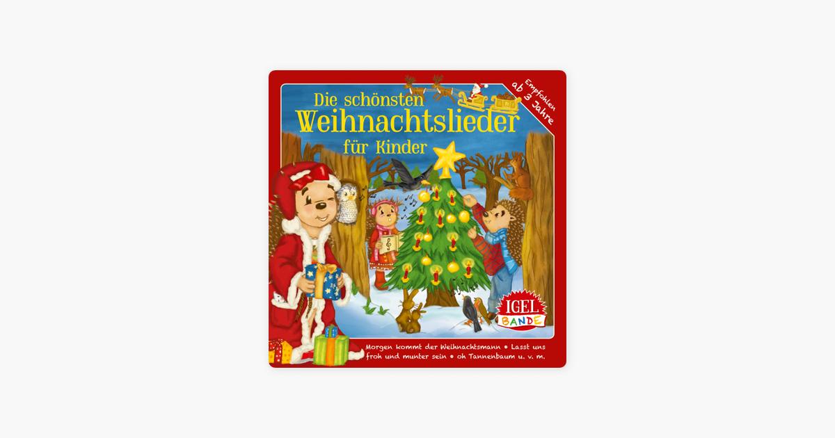 """Die schönsten Weihnachtslieder für Kinder"""" von Igel-Bande bei Apple ..."""
