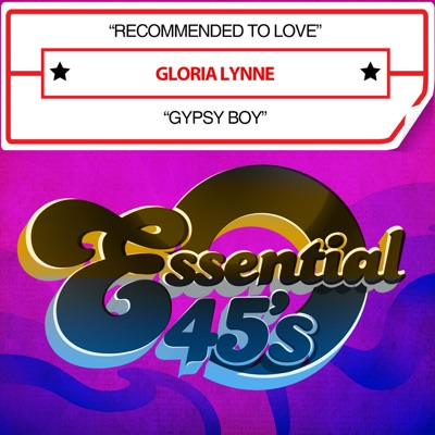 Recommended To Love / Gypsy Boy - Single - Gloria Lynne