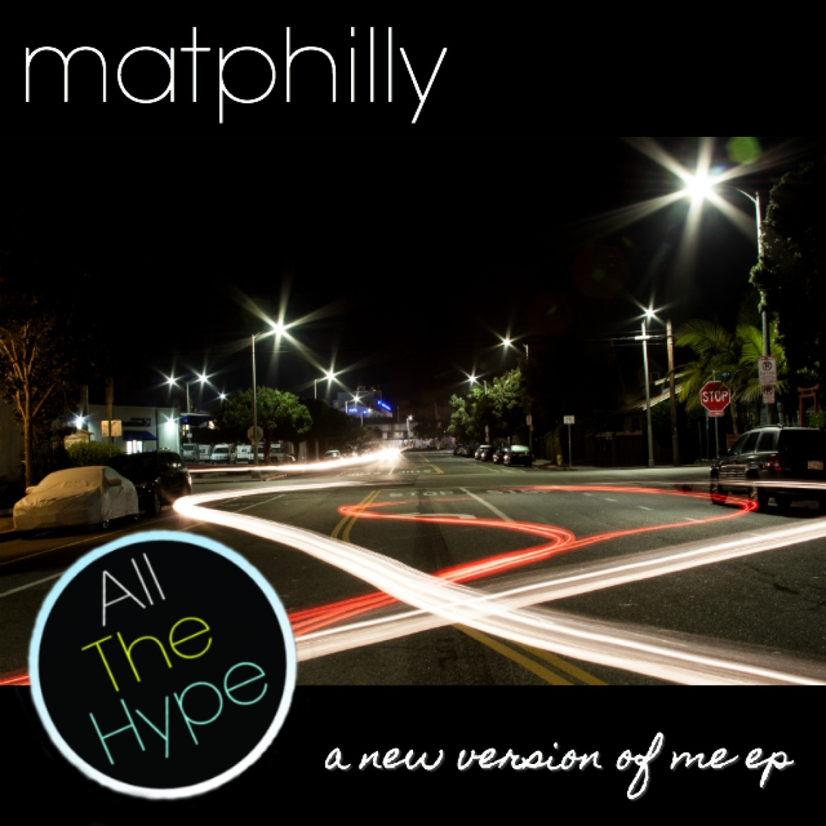 A New Version of Me EP - EP matphilly CD cover