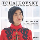Jennifer Koh - Souvenir d'un lieu cher, Op. 42, TH 116 (Arr. A. Glazunov for Violin & Orchestra): III. Mélodie