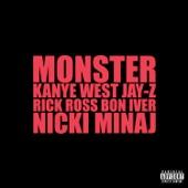 Monster (feat. Jay-Z, Bon Iver, Rick Ross & Nicki Minaj) - Single