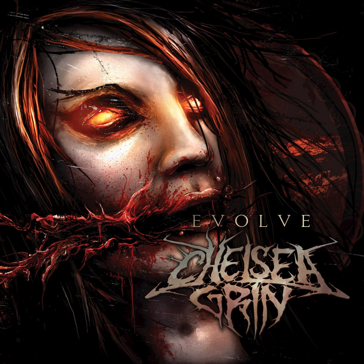 Evolve - EP Chelsea Grin CD cover
