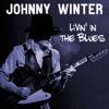 Johnny Winter Livin' in the Blues ジャケット写真