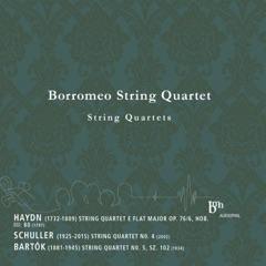 Haydn, Schuller, Bartók: Works for String Quartet