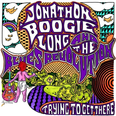 Trying To Get There - Jonathon Boogie Long album