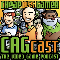 Podcast cover art for CAGcast