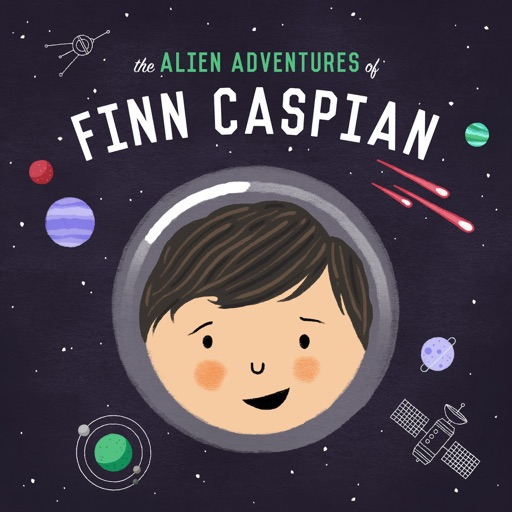 Cover image of The Alien Adventures of Finn Caspian: Science Fiction for Kids