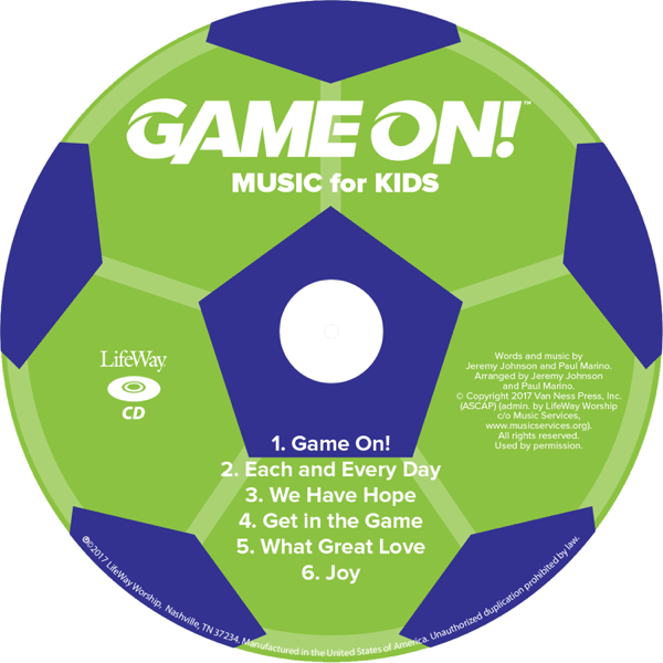 VBS 2018 Game On! Music for Kids CD - EP by LifeWay Kids Worship