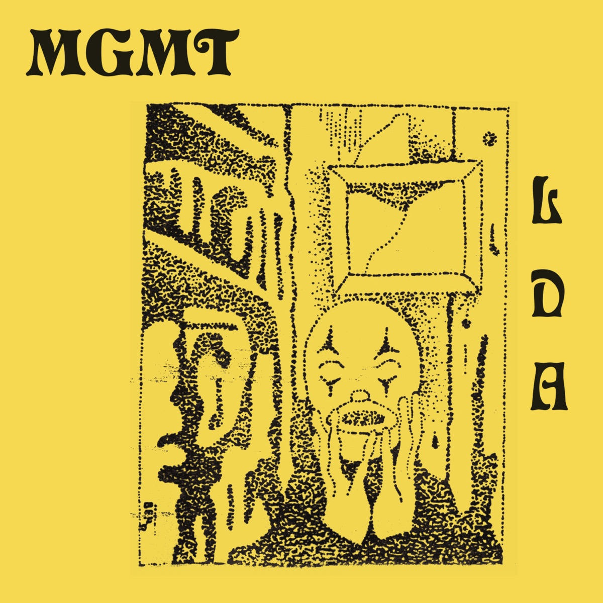 Little Dark Age MGMT CD cover