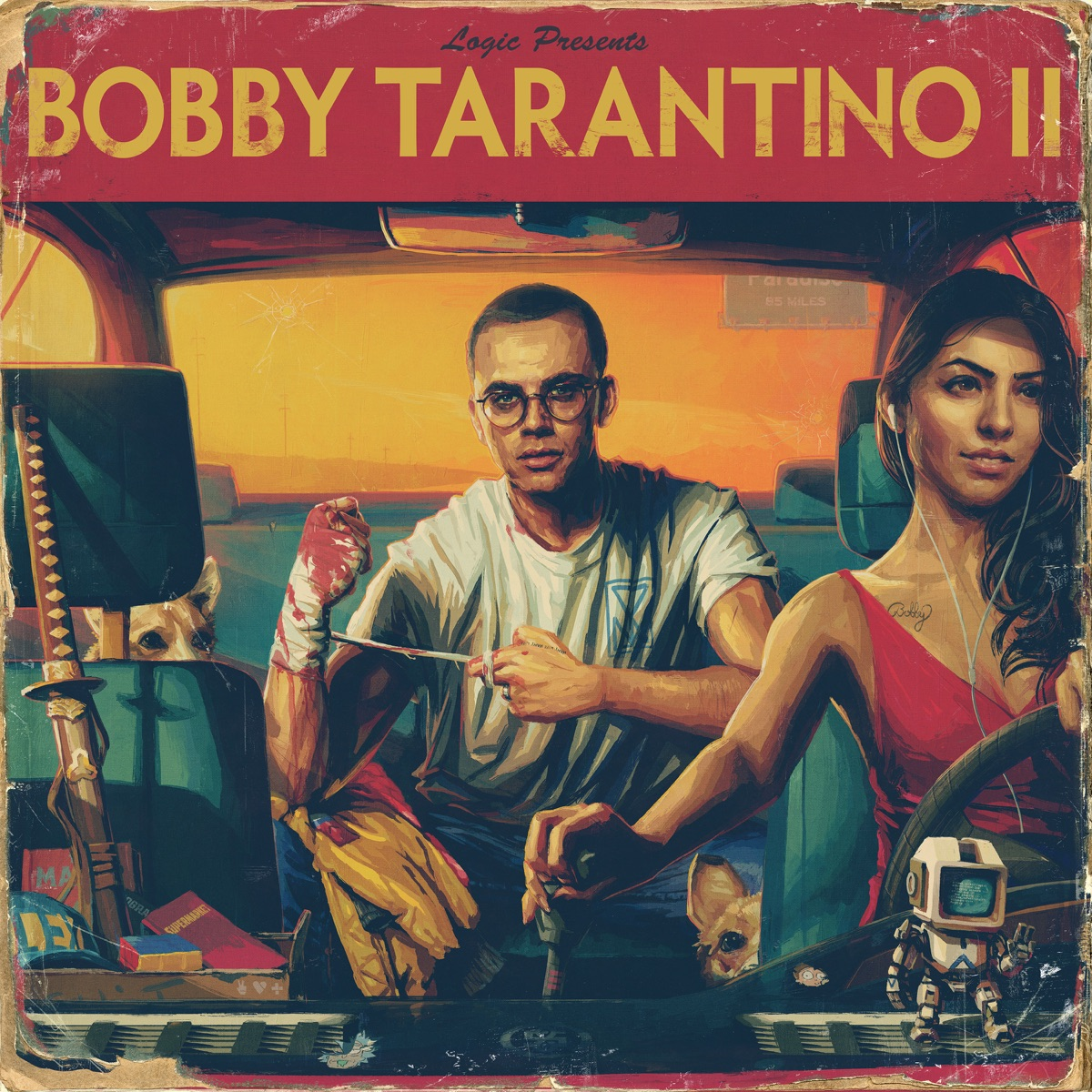 Bobby Tarantino II Logic CD cover