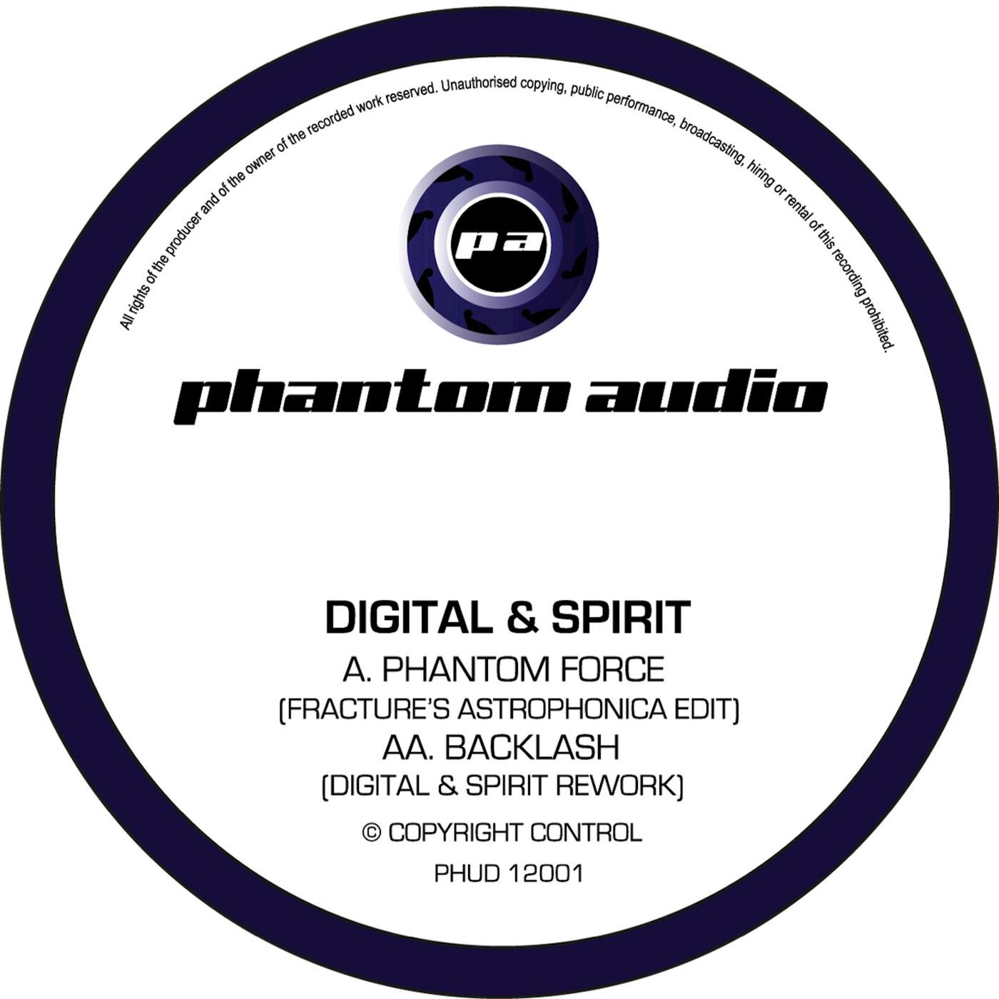 Phantom Force (Fracture's Astrophonica Edit) - Single