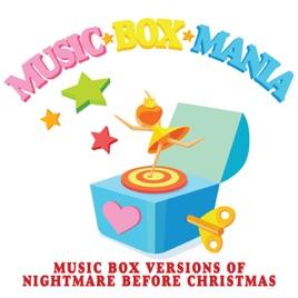 music box versions of nightmare before christmas ep music box mania - Nightmare Before Christmas Music Box