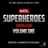 Geek Music - Marvel Superheroes Compilation, Vol. One artwork