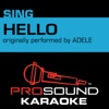 Hello (Originally Performed by Adele) [Instrumental Version] - Single