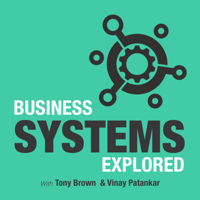 Podcast cover art for Business Systems Explored