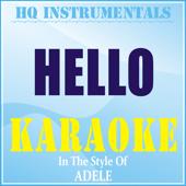 Hello (Instrumental / Karaoke Version) [In the Style of Adele]