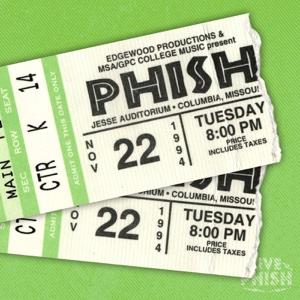 Phish - Phish: 11/22/94 Jesse Auditorium- University of Missouri, Columbia, MO (Live)