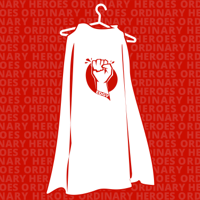 Podcast cover art for Ordinary Heroes
