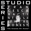 He Knows My Name (Studio Series Performance Track) - - EP