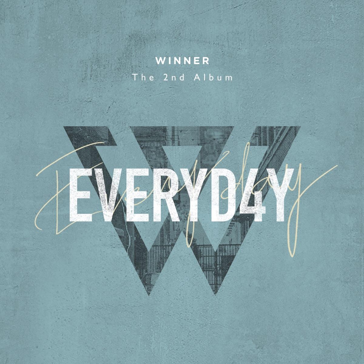 EVERYD4Y WINNER CD cover