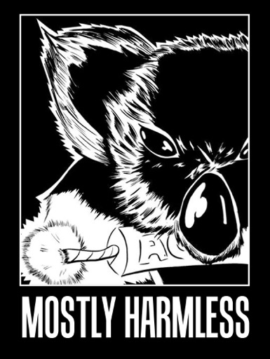 Cover image of Mostly Harmless With Dammit Damian - Punk Rock Podcast