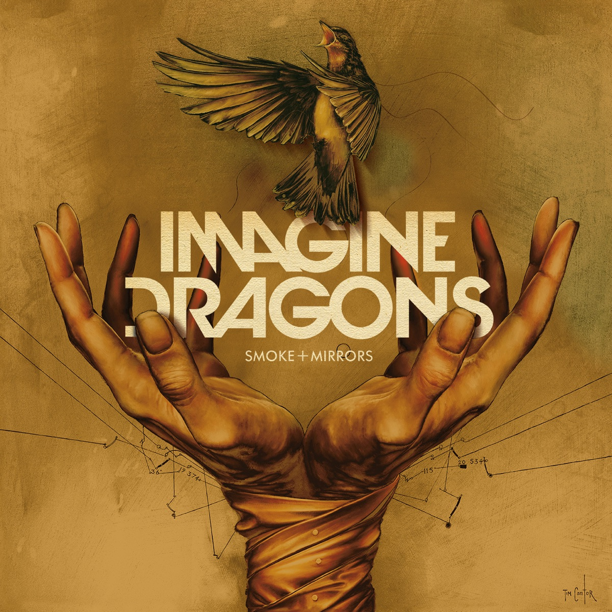 Smoke  Mirrors Deluxe Imagine Dragons CD cover