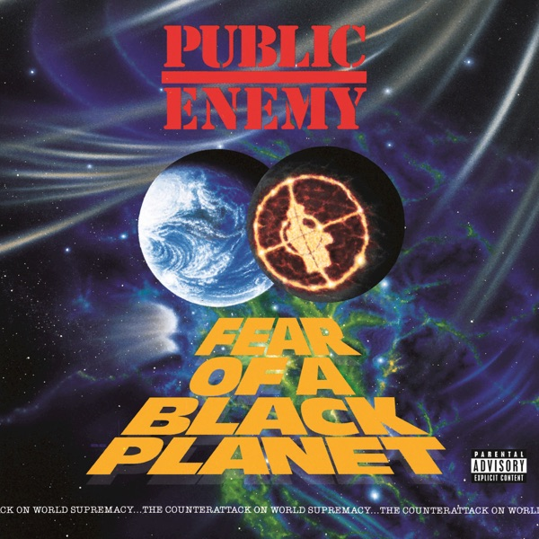 iTunes Artwork for 'Fear of a Black Planet (by Public Enemy)'