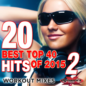 20 Best Top 40 Hits of 2015, Vol. 2 (Workout Mixes) [Unmixed Songs For Fitness & Exercise]